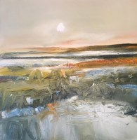 Lot 2400 - MAY BYRNE, WINTER SUN oil on canvas, signed...