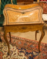 Lot 881 - EARLY 20TH CENTURY FRENCH ROSEWOOD AND...