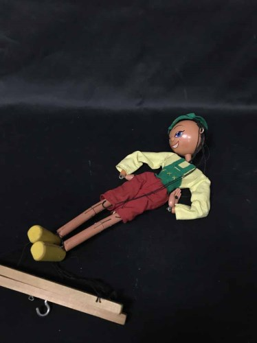 Lot 4-A PELHAM PUPPET in original box and with...