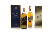 Lot 1005-JOHNNIE WALKER BLUE LABEL Blended Scotch Whisky....