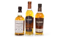 Lot 1008-BALVENIE SIGNATURE AGED 12 YEARS BATCH FIVE...