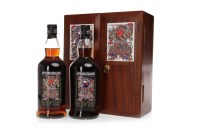 Lot 1012-SPRINGBANK DOOR GODS 1ST EDITION (2 BOTTLES)...