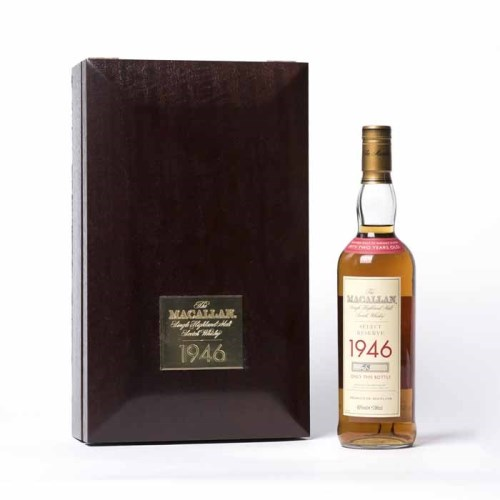 Lot 1100-THE MACALLAN 1946 SELECT RESERVE AGED 52 YEARS...