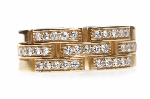 Lot 11 - CARTIER PANTHERE EIGHTEEN CARAT GOLD DIAMOND...