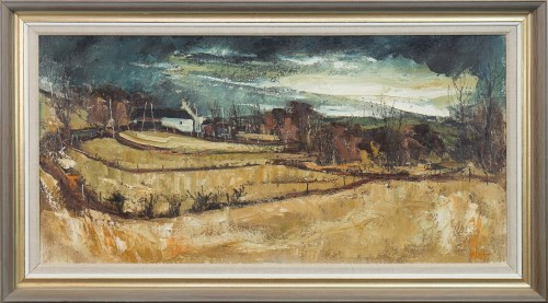 Lot 8-* JAMES WATT RGI (b 1931 - ), MARGARET'S MILL,...