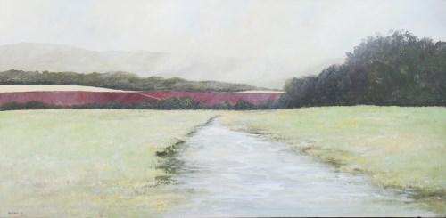 Lot 37-* PHILIP RASKIN, SUSSEX STREAM oil on canvas,...