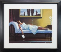 Lot 44-* JACK VETTRIANO OBE, THE LETTER limited edition...