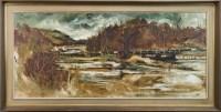 Lot 60-* JAMES WATT RGI (b 1931 - ), SCOTTISH LANDSCAPE...