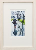 Lot 62-BRYAN EVANS, ANN REFLECTING IN THE PARK...