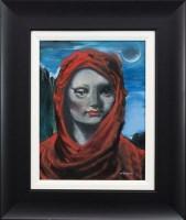 Lot 117-* FRANK MCFADDEN, SABRINA oil on canvas, signed...