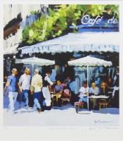 Lot 120-* JACK MORROCCO (SCOTTISH b 1953 - ), CAFE DE...