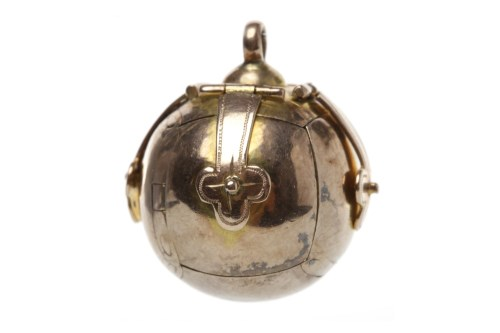Lot 516 - MASONIC BALL PENDANT of spherical form,...