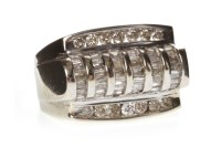 Lot 622 - GENTLEMAN'S DIAMOND CLUSTER RING the...