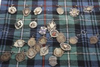 Lot 813-LOT OF EARLY 20TH CENTURY SILVER MEDALS varying...