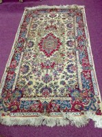 Lot 1017-PAIR OF EARLY 20TH CENTURY PERSIAN RUGS with...