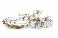 Lot 1203-MID-20TH CENTURY ROYAL CROWN DERBY PART TEA...
