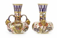 Lot 1239-PAIR OF VICTORIAN ROYAL CROWN DERBY 'IMARI'...