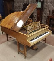 Lot 1401-EARLY 20TH CENTURY BOUDOIR GRAND PIANO by C....
