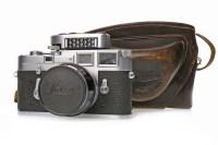 Lot 1406-1960 LEICA M3 RANGEFINDER CAMERA serial number...