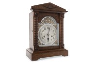 Lot 1413-LATE 19TH CENTURY MANTEL CLOCK the movement by CB ...