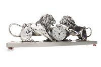 Lot 1416-CONTEMPORARY SCULPTURAL CLOCK BY OTTAVIANI the...