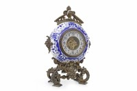 Lot 1422-EARLY 20TH CENTURY FRENCH STYLE MANTEL CLOCK the...