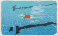 Lot 8-* ELSPETH LAMB, COBWEB lithograph, signed, titled ...