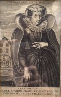 Lot 39-AFTER CORNELIS GALLE (BELGIAN 1576 - 1650), MARY QUEEN OF SCOTS