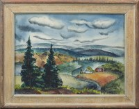 Lot 52-JEANETTE BLAIR (AMERICAN 1922 - 2016), RURAL...