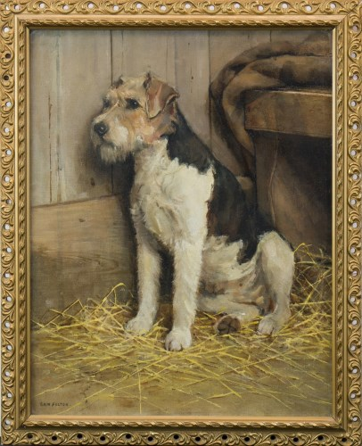 Lot 209-SAM FULTON (SCOTTISH 1855-1943), MAX oil on...
