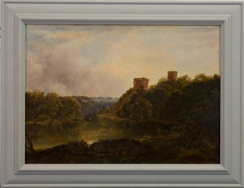 Lot 225-HORATIO MACCULLOCH RSA (SCOTTISH 1805 - 1867), BOTHWELL CASTLE