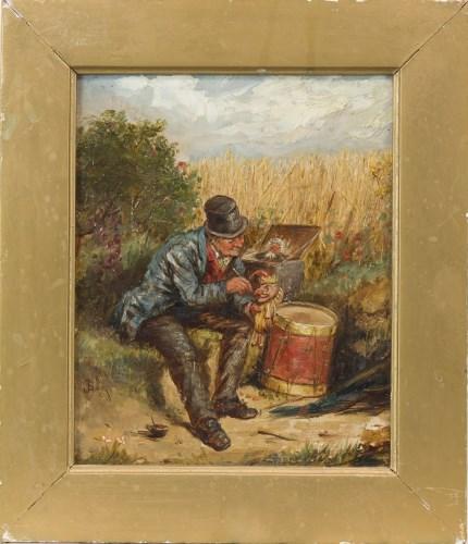 Lot 245-JOHN BURR RBA, ROI, ARWS (SCOTTISH 1831-1893),...