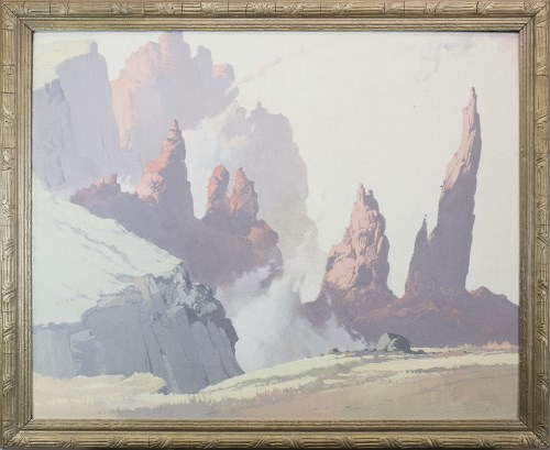 Lot 252-* ALBERT GORDON THOMAS RSW (SCOTTISH 1893 - 1970),...