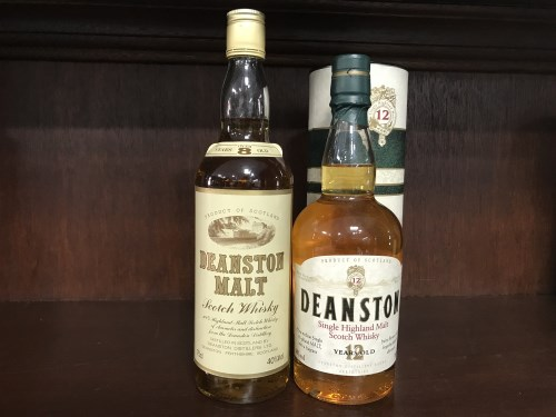 Lot 15-DEANSTON 12 YEARS OLD - OLD STYLE Active....
