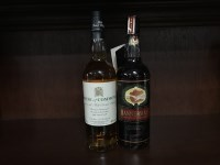 Lot 18-BANNERMANS 'HEART OF THE MALT' Blended Malt...