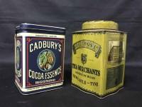 Lot 15-COLLECTION OF VARIOUS 20TH CENTURY TINS