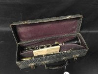 Lot 16-JEROME THIBOUVILLE LAMY CLARINET in hard case