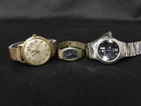 Lot 19-GROUP OF WRISTWATCHES including a lady's nine...