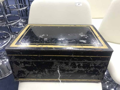 Lot 62 - VICTORIAN TRAVEL FILING BOX by Chubb & Son,...