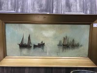 Lot 78 - J F CRAIG, THE CALM WATERS oil on canvas,...