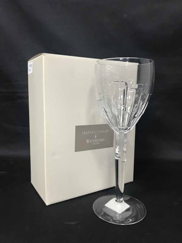 Lot 81 - JASPER CONRAN FOR WATERFORD CRYSTAL PAIR OF...