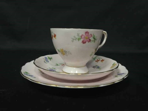 Lot 100 - TUSCAN FINE ENGLISH PART TEA SERVICE with...