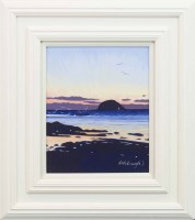 Lot 71-FRANK COLCLOUGH, AILSA SUNSET oil on board,...
