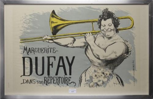 Lot 1631-LOUIS ANQUETIN (AFTER) MARGUERITE DUFAY DANS SON...
