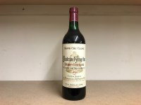 Lot 6-CHATEAU L'ANGELUS 1970 Grand Cru Classe (12) A.C. ...