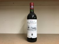 Lot 7-CHATEAU TERREFORT QUANCARD 1974 Cru...