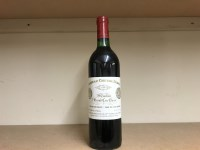 Lot 15-CHATEAU CHEVAL BLANC 1980 1er Grand Cru Classe...