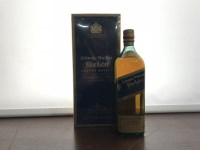Lot 6-JOHNNIE WALKER BLUE LABEL Blended Scotch Whisky...
