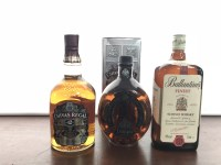 Lot 9-CHIVAS REGAL AGED 12 YEARS - ONE LITRE Blended...