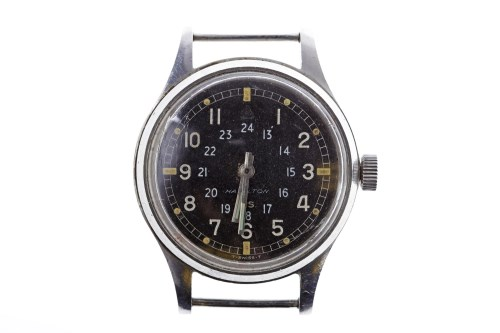 Lot 755-GENTLEMAN'S MILITARY ISSUE STAINLESS STEEL MANUAL ...